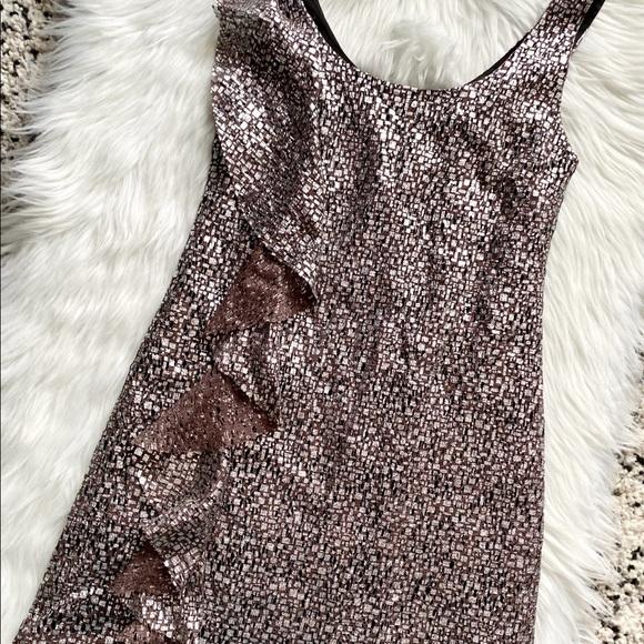 Stunning Metallic Bronze Guess Dress